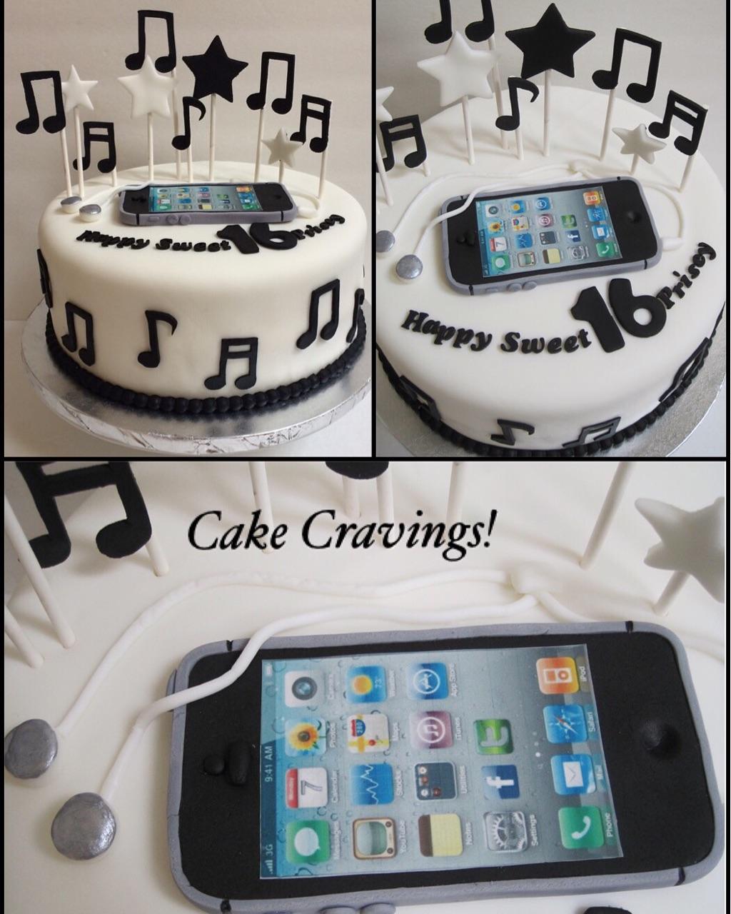 Iphone Cake Cakecravingsz