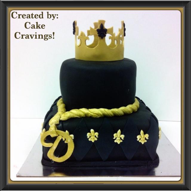King Themed Birthday Cake cakecravingsbiz