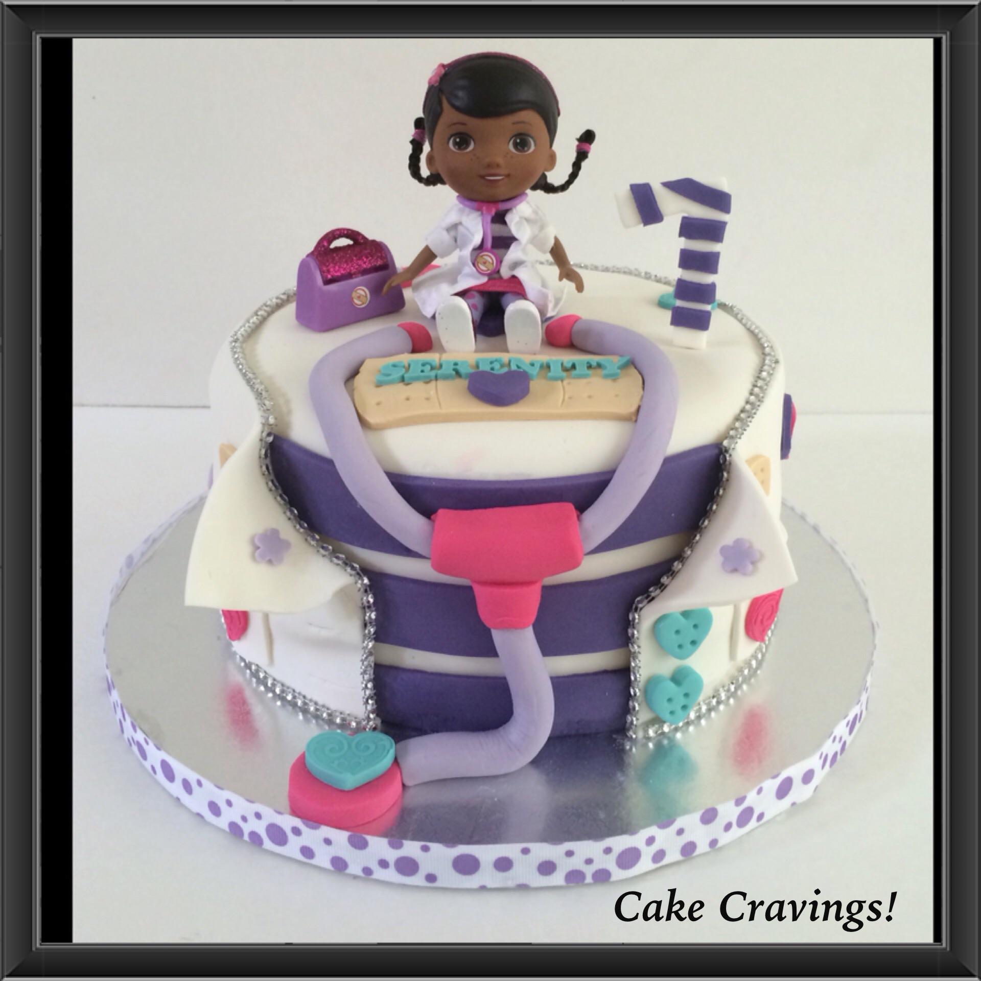 Cake Doc McStuffins Coat